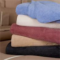 100% Brushed Cotton Blanket