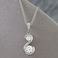14k 1.37 Cttw. Certified Diamond Pendant