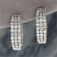 14k 2.02 Cttw. Diamond Inside/outside Earrings