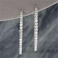 14k 6.00 Cttw. Diamond Inside/outside Earrings