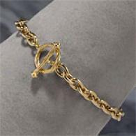18k 0.42 Cttw Diamond Heart Bracelet
