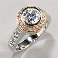 18k 1.50 Cttw. Diamond Engagement Ring