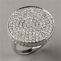 18k 3.29 Cttw. Diamond Circle Ring