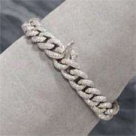 18k 5.93 Cttw. Diamond Link Bracelet