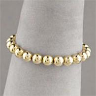 18k Vermeil Classic Bead Bracelet
