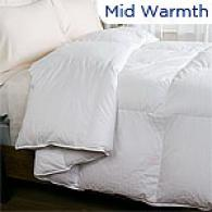 300tc White Simpleton Down Comforter