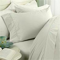 320tc Single-ply Classic Cotton Percale Sheet Set