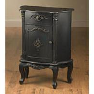 32in Black Front Door Breast