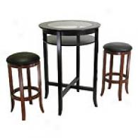 3pc Pub Table & Stool Set