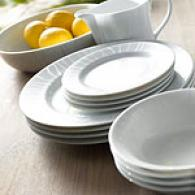 45pc Porcelain Dinnerware Set
