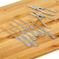 8pc Stainless Sgeel Seafood Tool Set