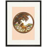 A Moment Alone With A Good Book Framed Print