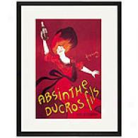 Absinthe Ducros Fils Framed Print