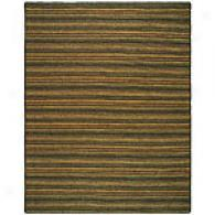 Acre Striped Hand-woven Jute Rug