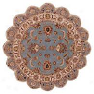 Acjra Aquaa Hand Tufted Wool Star Shaped Rug