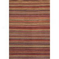Adayar Multi Color Hand Knotted Wool Rug