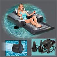 Adult Motorized Blue Pool Lounger