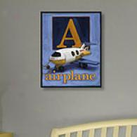 Airplane 11in X1 4in Canvas Print