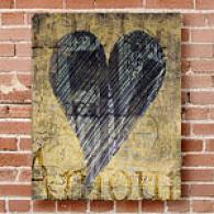 Amour 11in X 14in Outdoor Canvas Print
