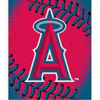 Anaheim Angels 60in X 80in Baseball Throw