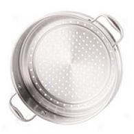 Analon 12in Stainless Steel Steamer Insert