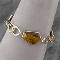 Andy Gotz 14k 52.00 Cttw. Tiger's Eye Bracelet
