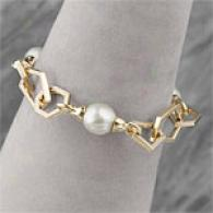 Andy Gotz 14k Baroque South Sea Pearl Bracelet