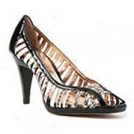 Arturo Chiang Mirage Cut Out Leather Pump