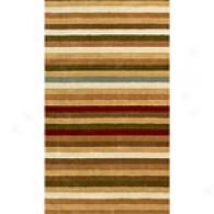 Ashlee Collection Multi Colored Wool Rug