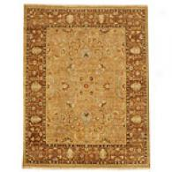 Asif Tan & Wood Brown Hand Tufted Wool Rug