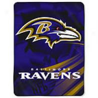 Baltimore Ravens 60in X 80in Throw
