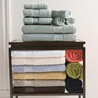 Bamboo & Cotton 6pc Towels Set With Bonus Cloths
