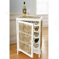 Bamboo Pole Unite intimately Wine Cabinet