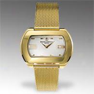 Baume & Mercier Hampton City Womens 18k Gold Watch