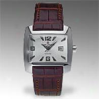 Baume & Mercier Hampton Spirit Mens 18k Gold Watch