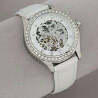Bcbgirls Reach Me Blus hAutomatic White Watch