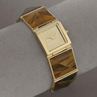 Bcbgirls Natural Elementss Tiger Eye Watch