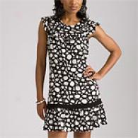 Bcbgmaxazria Black Knit Dress