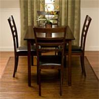 Beatrice 5 Piece Dining Set With Table And 4 Char