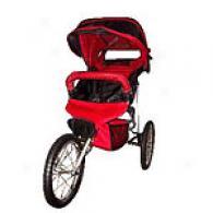 Bebelove 2006 Red Evo S Single Jogging Stroller