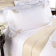 Bellino Hand Embroidered Paisley Bedding