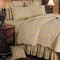 Berkeley Yellow Quilt Set