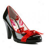 Betseyville Aisha Patent Pump With Bow
