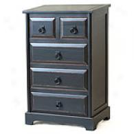 Black Farmhouw Accent Chest