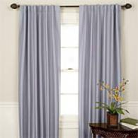 Blackout Pole Top Or Back Tab Curtain Panel Set