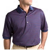 Bobby Jonnes Players Golf Stripe Polo