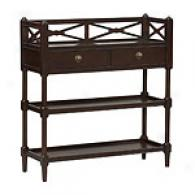 Bordeaux Walnut Cheveret/console Table