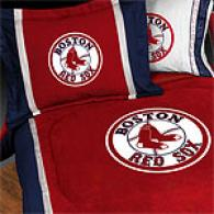 Boston Red Sox Comforter & Sheet Set