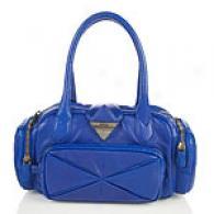 Botkier Ziggy Electric Blue Small Leather Satchel