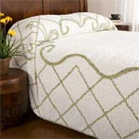 Bows Tufted 100% Cotton Chenille Bedspread